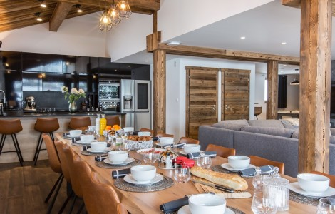 Clos st jean – exclusive high end chalet for 14 people
