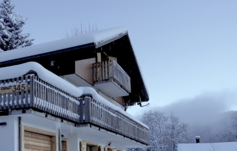 Chalet 345 – stunning view on les gets resort